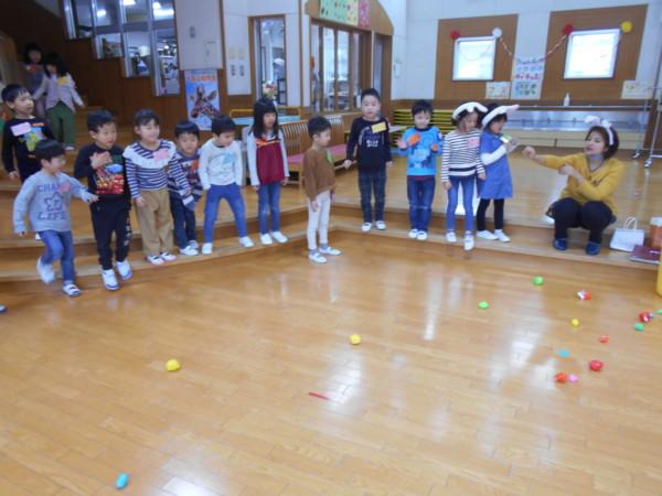 英語遊びがありました!(ゆりくみ・ばらくみ) – 秋田市|ごしょの保育園